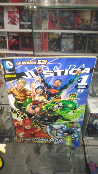 Os Novos 52 : Liga Da Justiça 2ª Série - N° 1 / Panini