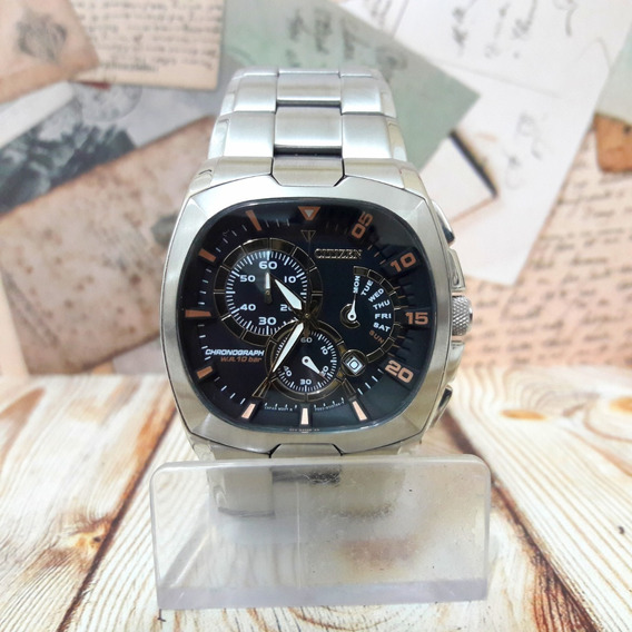 Relógio Citizen Cronógrafo An9000-53 Original Em 12x