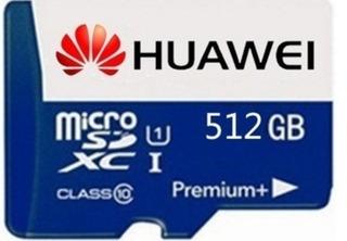 Cartão Memória Huawei 512gb Novo Com Brinde A Pronta Entrega