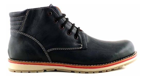 Borcego Hombre Cuero Zapato Bota Casual Botineta Hcbo00914