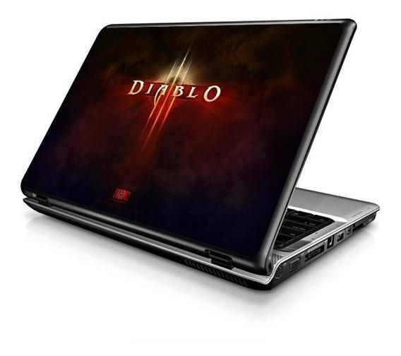 Diablo 3: Skin Adesivo, Proteção P/ Notebooks