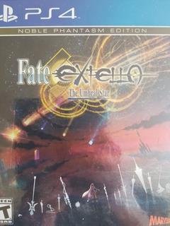 Fate Extella The Umbral Star Noble Phantasm Edition Ps4
