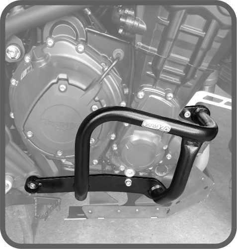 Protetor De Motor Triumph Tiger Explorer 1200 / Xc - Scam