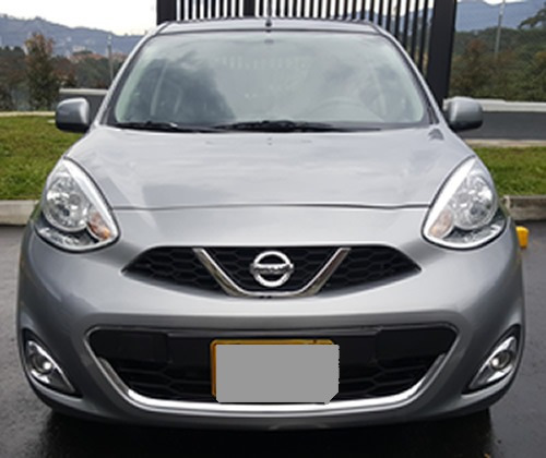 Nissan March Automatico 2016 Gris 30500 Kmtrs