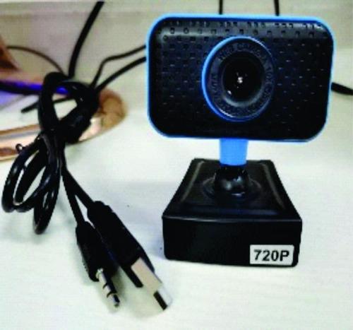 Camara Web Usb Con Microfono 3.5