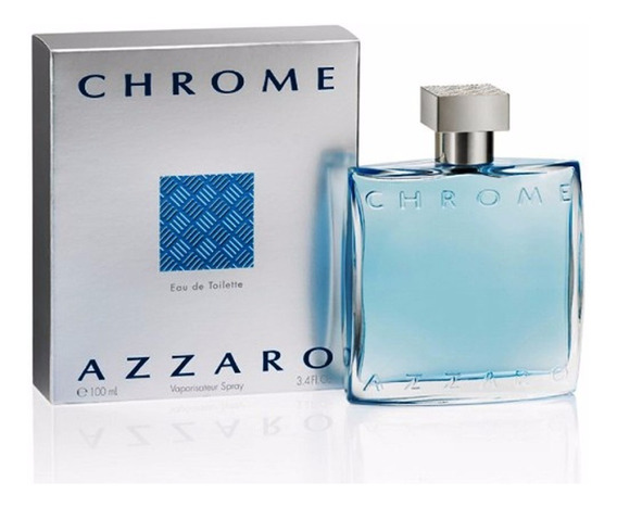 Perfume Azzaro Chrome 100ml Edt Original E Lacrado Masculino