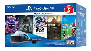 Lentes Realidad Virtual Sony Ps4 Vr Con Juegos Zonatecno