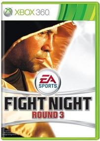Fight Night Round 3 Xbox 360 Original Frete R$12