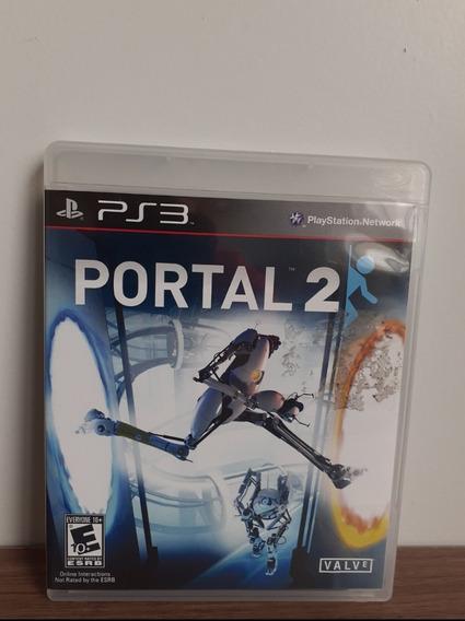 Jogo Portal 2 Ps3 Midia Física (impecável)