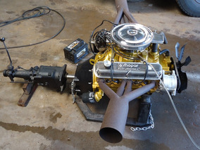 Motor 318 Dodge Charger Dart V8 Caixa De Cambio Video !!!!!