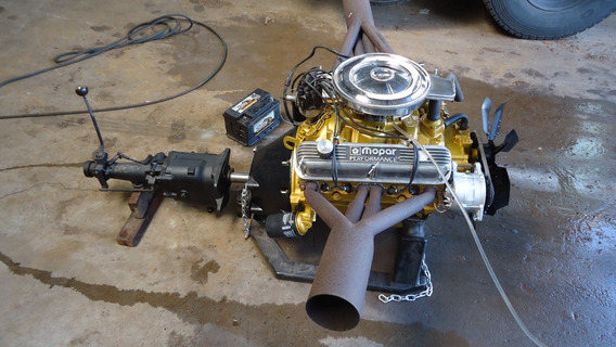 Motor 318 Dodge Charger Dart V8 Caixa De Cambio Video !!!!!