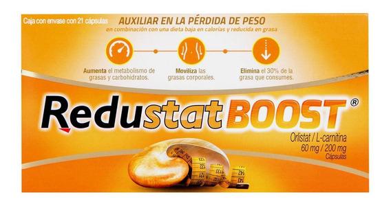 Redustat Boost 60 Mg / 200 Mg Caja Con Envase Con 21 Cápsula