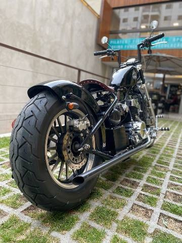 Black Jack Bobber Custom
