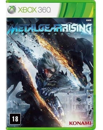 Metal Gear Rising Revengeance - Xbox 360 - Mídia Física