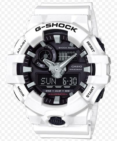 Relógio Casio G-shock Ga-700 Original Ga-700-7 Branco !!!!!!