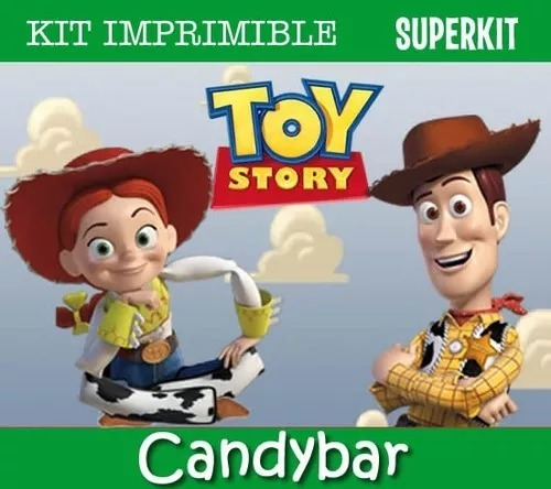 Kit Imprimible Toy Story Nenes Nenas Promo Invitaciones
