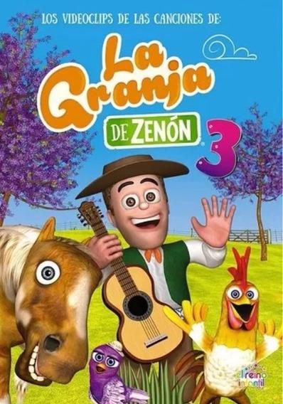Dvd Oficial Las Canciones De La Granja De Zenón Vol 3