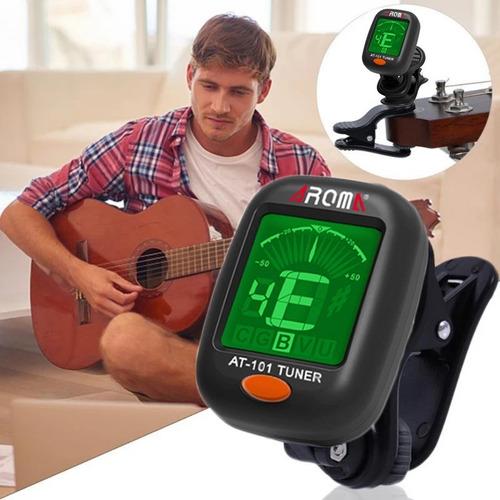 Imagen 1 de 7 de Afinador Para Guitarra, Violín Y Otros Instrumentos Musicale