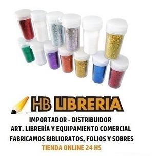 Kit X6 Colores Brillos Glitter Ad Arte Maquillaje Pote 3grs