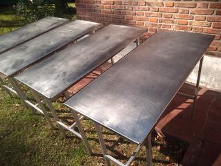 Mesa Acero Inox Carnicería Pollería Despacho