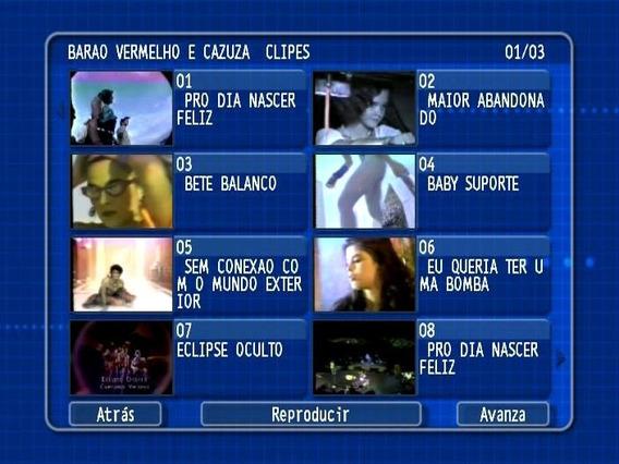 Dvd Cazuza (videoclipes)