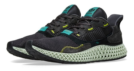 Tenis Adidaz Zx 4000 4d Carbon Casual Yeezy Frete Grátis