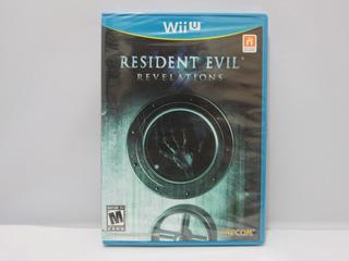 Resident Evil Revelations Wii U ¡fisico, Nuevo Sellado!