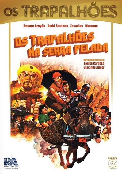 Os Trapalhões Na Serra Pelada - Dvd - Renato Aragão - Novo