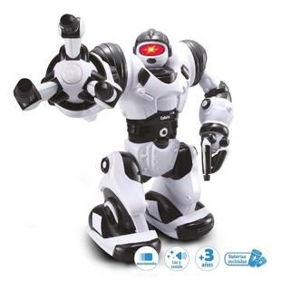 Robot Calvin-bot Luz , Sonido Y Movimiento Duende Azul Full