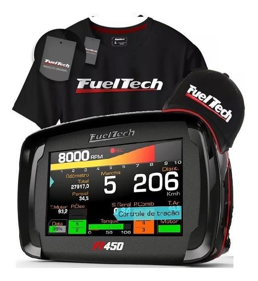 Fueltech Ft 450 Ft450 C Chicote 3 Mts + Brindes
