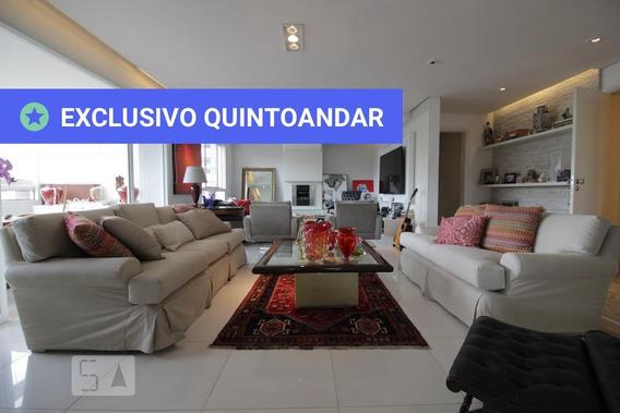 Apartamento No 4º Andar Com 4 Dormitórios E 4 Garagens - Id: 892977388 - 277388
