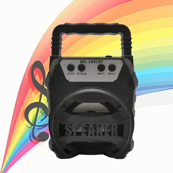 Caixinha Som Portátil Bluetooth Tf Sd Rádio Fm Usb Mp3 795