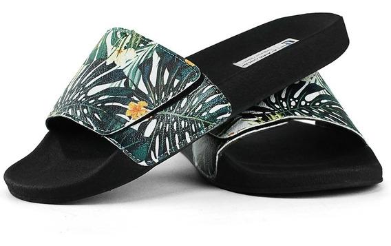 Chinelo Slide Em Velcro Confort Várias Estampas Lindas Promo