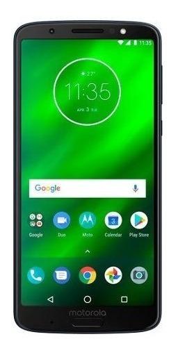 Motorola Moto G6 Plus, 64 Gb - Deep Indigo (liberado)