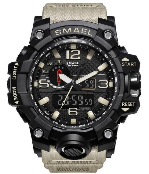 Relógio Militar Esportivo Smael 1545 Varias Cores