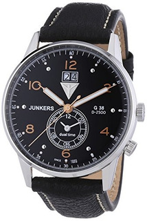 Reloj Junkers G38 Dual Time Gmt 69405