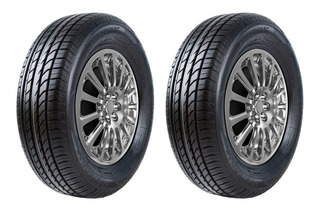 Set De 2 Llantas Powertrac 235/60 R16 City March