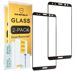 [paquete De 2] -mr Shield Para Huawei Mate 10 Lite [vidrio T