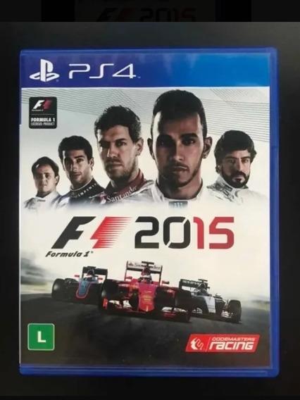 F1 2015 Mídia Física Ps4 - Fórmula 1