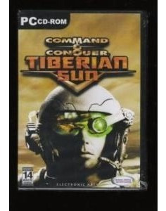 Game Pc Command & Conquer Tiberian Sun - Cd-rom Lacrado