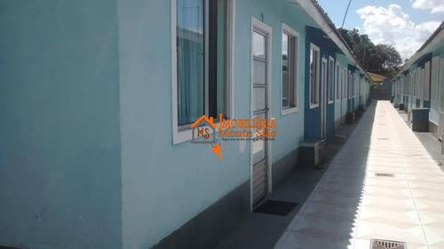 Casa Com 2 Dormitórios À Venda, 63 M² Por R$ 148.400 - Vila Nova Bonsucesso - Guarulhos/sp - Ca0440