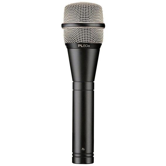 Microfone De Mão Pl80a Com Fio Supercardióide Electro-voice