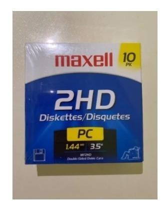 Imagen 1 de 2 de Diskettes Maxell 2hd 3.5 1,44 Mb Combo De 3 Cajitas