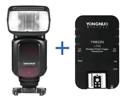 Combo Flash Yongnuo Yn968 Para Nikon + Unidad Radio Yn622