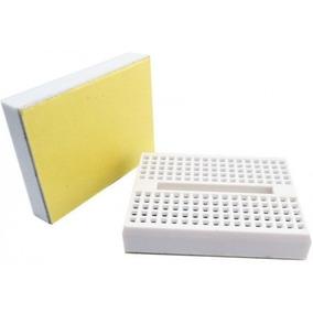 100x Mini Protoboard 170 Pontos Branco