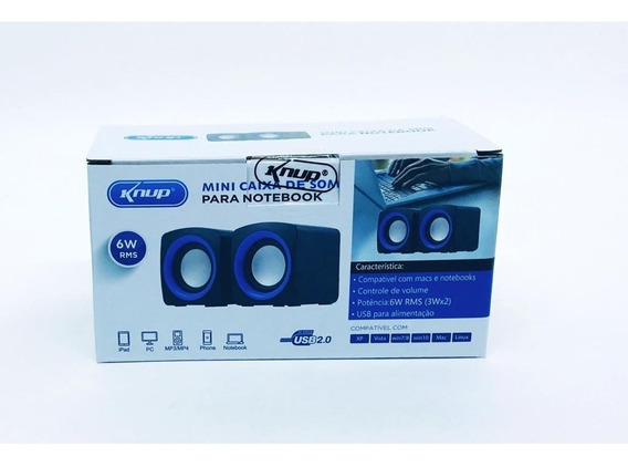 2 Mini Alto-falante Digital Multimídia Inova 2.0 Rad-b5341