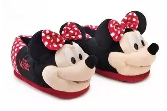 Pantufa 3d Disney Minnie 28/30 - Ricsen