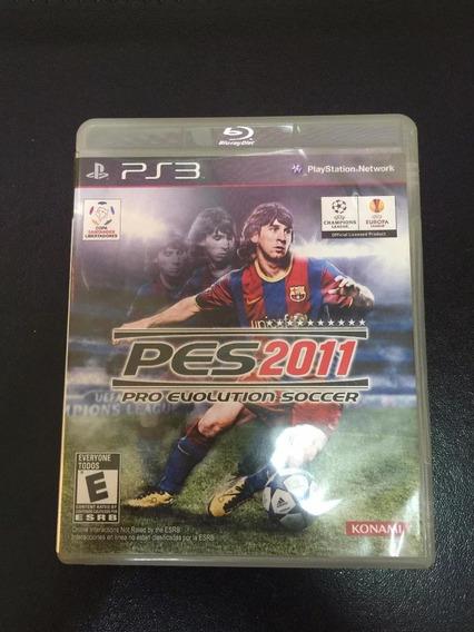 Jogo Para Ps3 - Pes 2011 - Usado