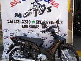 Honda Biz 125 Es 2012 Preta Novíssima!