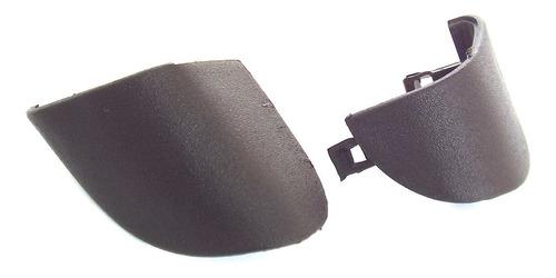 Imagem 1 de 4 de Par Tampa Puxador Esquerdo Portas Preto Celta 2001 A 2006